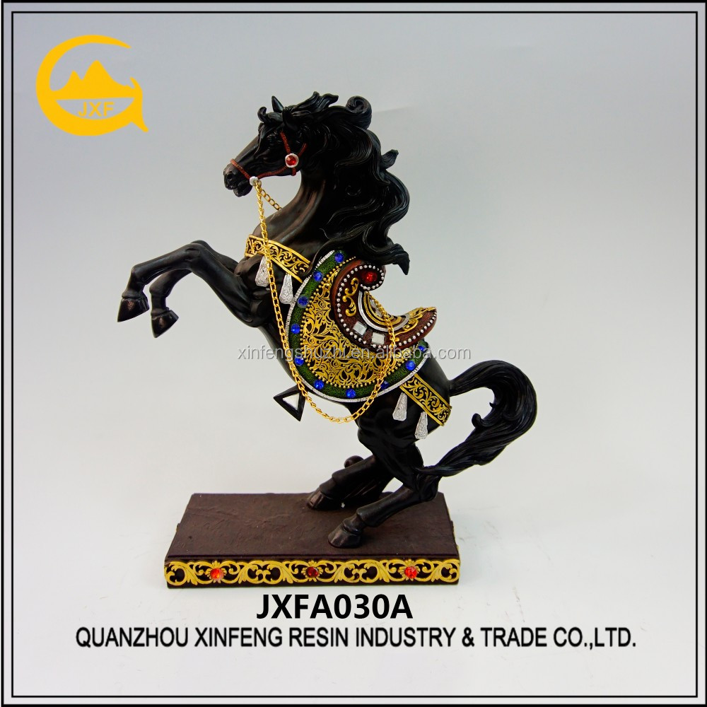 Custom home decor polyresin horse statues, horse figurines, horse sculptures