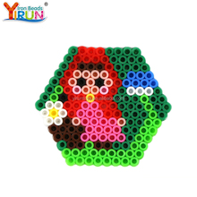 best selling product children educational toys Blister Pack colored 5mm hama perler beads