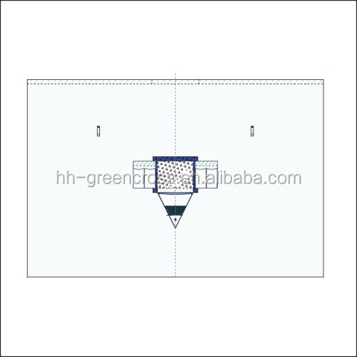 Surgical Disposable Vertical isolation drape