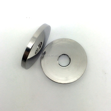 insulating glass aluminum watch case spacer round cnc part