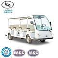 Made in China 11 Seats Electric Passenger Coaches with AC Motor