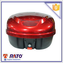 Red motorcycle metal tail box for discount