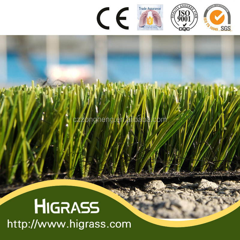 ISO approved artificial turf, fake grass, synthetic grass