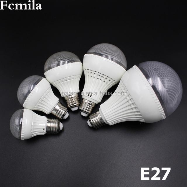 LED Bulb E27 3W 5W 7W 9W 12W 110V 220V LED Plastic Bulb LED Candle Light Cool White