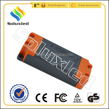 17W Constant Current LED Driver 300mA High PFC Non-stroboscopic With PC Cover For Indoor Lighting