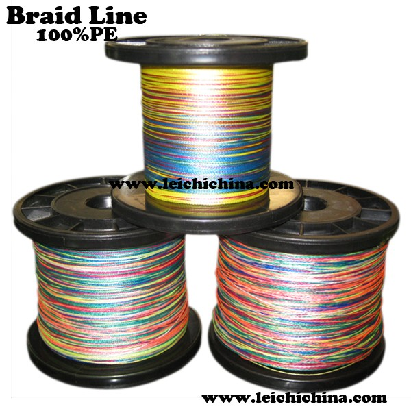 2016 multi color 100 pe braided fishing line buy for Best braided fishing line