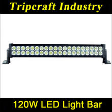Hot sale Waterproof 120W LED LIGHT BARS for Trucks,Spot Flood Combo 120W LED Light Bar for Truck Light ATV