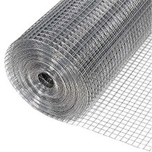 Galvanized Square Welded Wire Mesh 4x4 Inch Mesh Size