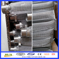 stainless steel cone shaped mesh tube (hebei anping)