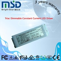 ETL, TUV,CE,RoHS passed 80w triac dimmable led transformer 80 watts led street light driver