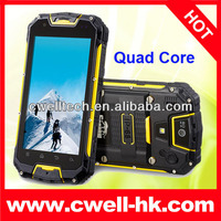 Snopow IP68 Rugged waterproof cell phone M8 with PTT Walkie Talkie 4.5 Inch Android 4.2 MTK6589 Quad Core 3000Mah Battery