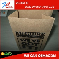 Paper Fried Chicken bag, fast food packaging