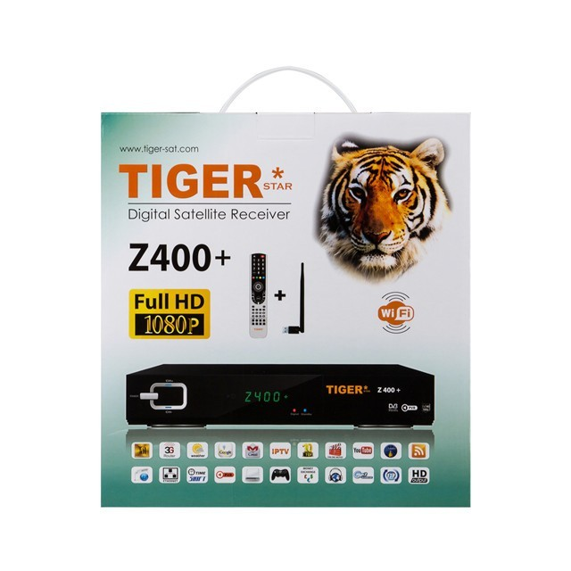Satellite Receiver Tiger Z400+ Free To Air Satellite Decoders