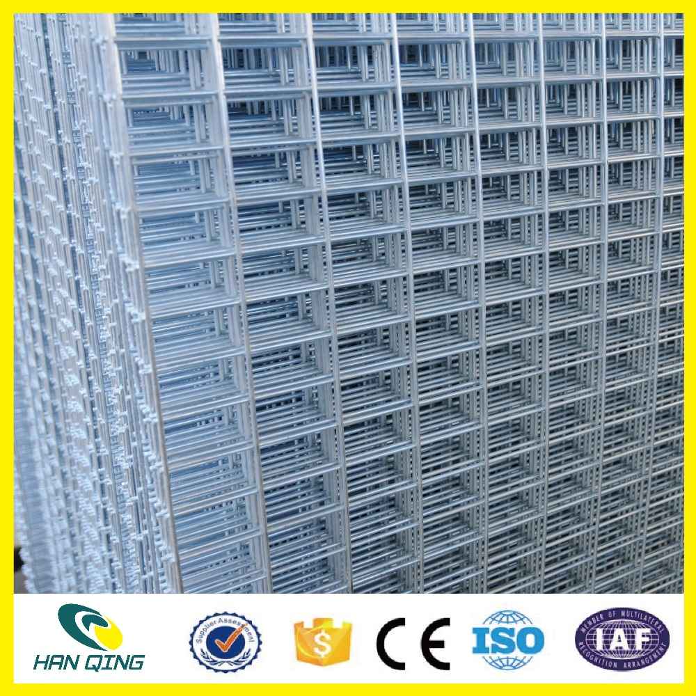 2.0mm steel galvanized welded wire mesh panels construction supplier