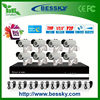 Cheap DIY Bullet ip cctv camera kit video security camera system 2 megapixel ip camera