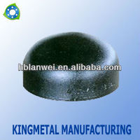 seamless carbon steel cap for pipe fittings/Carbon steel cap for pipe fittings