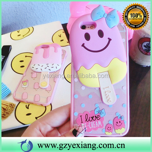Fanny 3D Silicon Cartoon Cell Phone Case For Huawei Y5 II Cun U29 Case