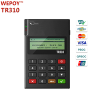 MPOS Mobile payment terminal Magnetic Card Reader NFC IC chip card reader with keypad