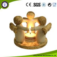 Church Angel Tea Light Candle Holder