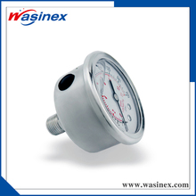stainless steel diaphragm pressure gauge for water pump