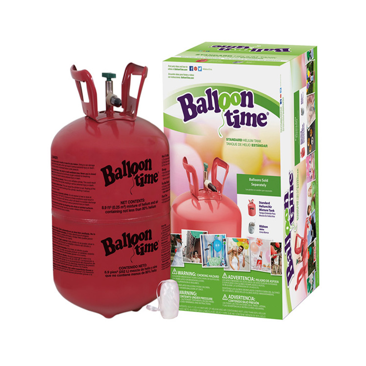 2017 Wholesale ex-factory price 50ib refillable helium gas tanks