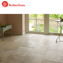 antique beige limestone pavers floor tiles ,french pattern limestone slabs for paving