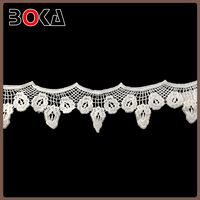 patch lace trim new water soluble voile lace for clothes making