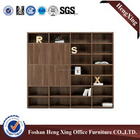 Foshan living room furniture wooden bookcase/ book shelf (HX-4FL028)