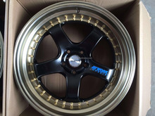 18 19INCH STAGGER SIZES WORK MEINSTER S1 RACING WHEEL DEEP DISH AFTER-MARKET WHEEL RIM