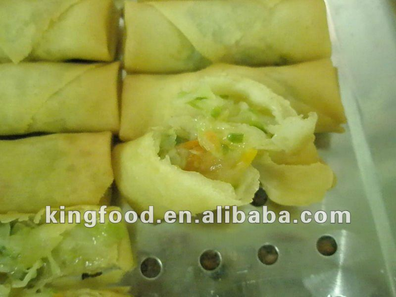 IQF Frozen Vegetable Spring Roll with HALAL