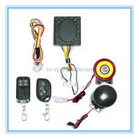 motorcycle anti-theft alarm voice motion sensor