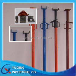 Q235,SS400,St37,1-0m Height steel post shores/ Adjustable Scaffolding Steel Prop & Shoring