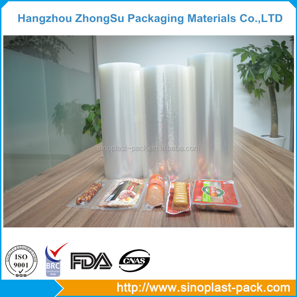 food grade PA/PE clear wrap stretch film on roll