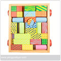 Wooden City Building Blocks	,	Classic Wooden Blocks	,	Baby Wooden Building Blocks