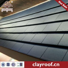 black color Thal flat roofing tile materials for building