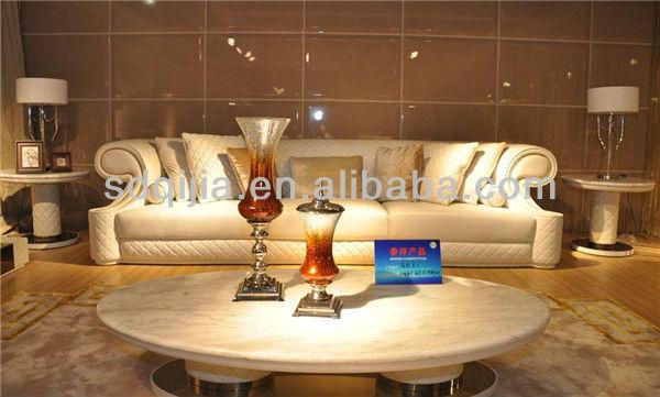 Hot moderne haut de gamme style italien de luxe blanc - Marque canape italien ...