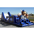 Widely used colorful printed inflatable cartoon obstacle course