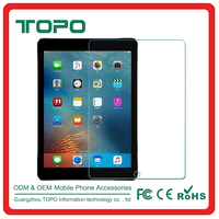 0.3mm round edge 9h tempered glass screen protector for Apple ipad pro 12.9 inch