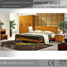 New style latest king size wooden bedroom