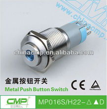 CMP 110v metal water proof momentary pushbutton led switch