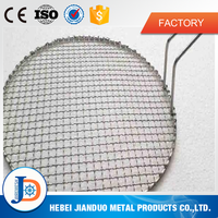 round and square crimped outdoor bbq grill wire mesh on sale