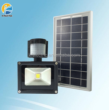 Hot Sale Solar Led Flood Light With Pir Motion Sensor 10w 20w 30w ...