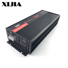 1500W 1.5KW 1500 Watt dc 12V 24V to ac 110v 120v 220v Volt hybrid pure sine wave power inverter with solar controller bypass