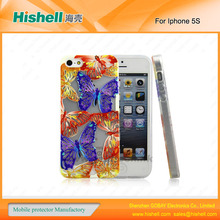 New fashion butterfly case For iphone5