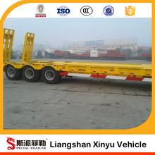 low bed semi trailer Multi Axle Lowbed Trailer for Fan Blade Transport for sale