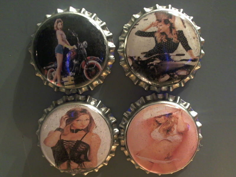 500 Custom Bottle Cap Magnets