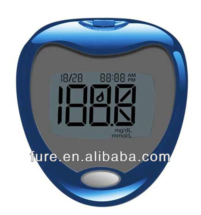 heart design one touch glucose meter,non invasive glucose meter