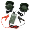 "1.3"" LCD Bird Hunting Caller 50W Speaker - ABS Army Green"