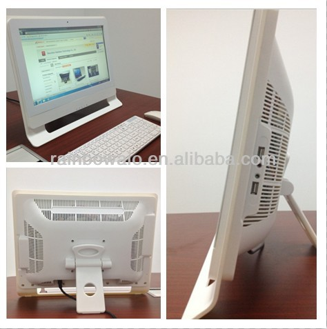 21.5''cheap all in one i3 i5 i7 touchscreen pc white