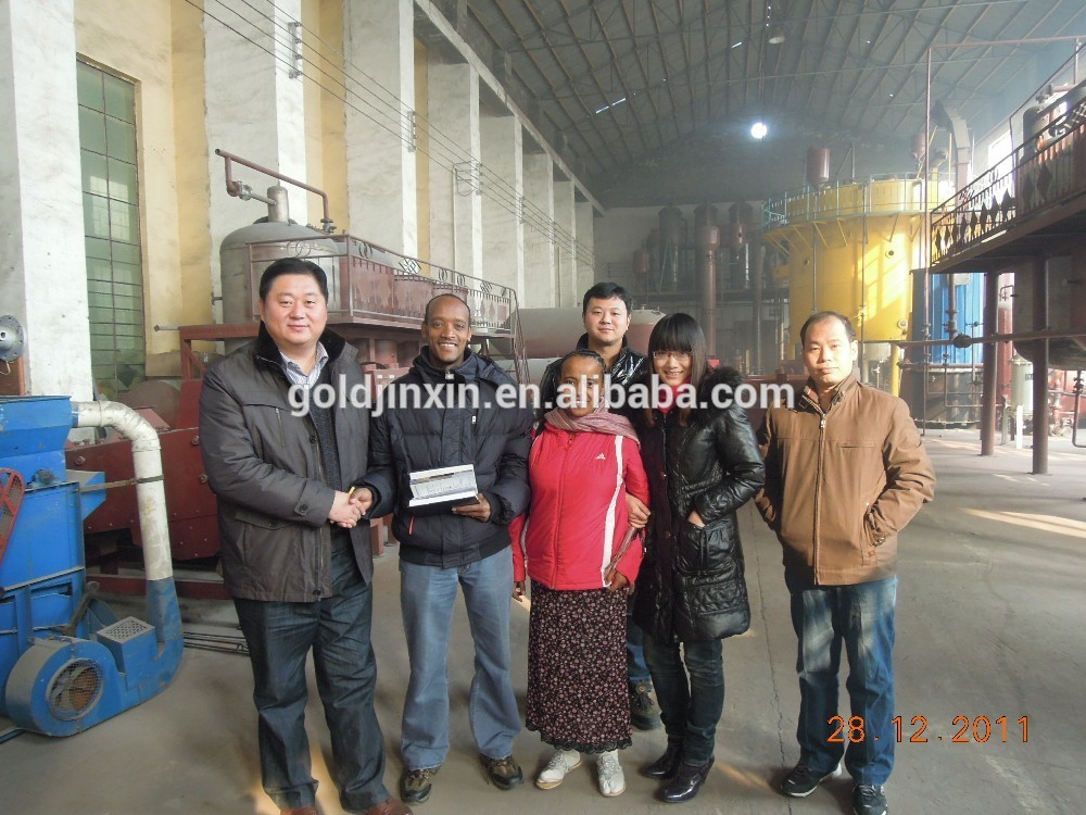 China Cheap price Durable soya bean crude oil refinery with CE Approved